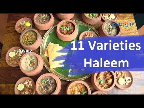 11 Varieties of Hyderabadi Haleem