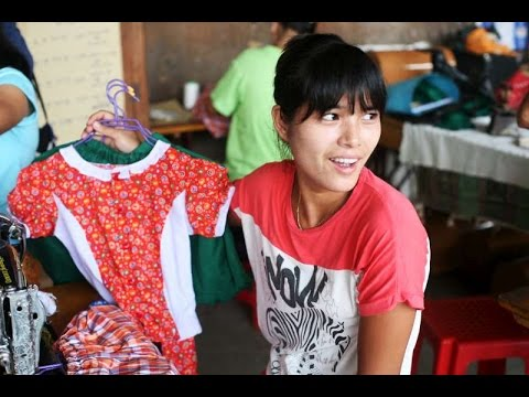 Displaced women sew up a future in Kachin camp