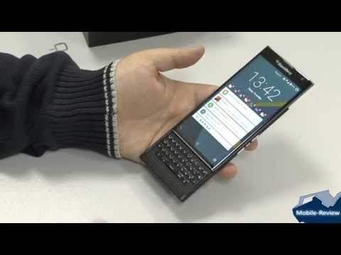 Обзор BlackBerry Priv
