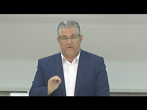 Δήλωση του Δημήτρη  Κουτσούμπα για τη γεώτρηση στην Κυπριακή ΑΟΖ