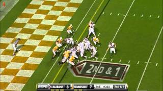 Trent Richardson vs Tennessee 2010