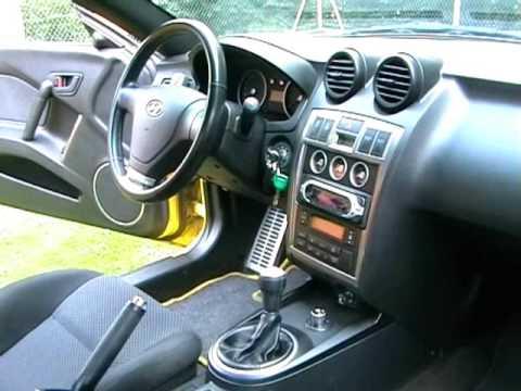 Hyundai Coupé (Tiburon Tuscani) 2003 - Video