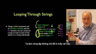 6 UMICH Python căn bản và nâng cao - Xử lý chuỗi