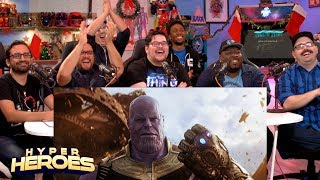 Avengers: Infinity War Official Trailer Reaction!