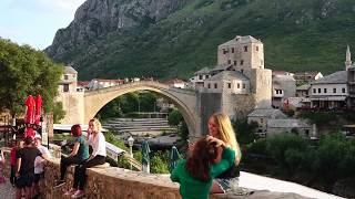 Mostar old town street view. visit Bosnia,  Visit Bosnia, visit Bodkins, walk in Bosnia, life in Bosnia today, Daniel world travel, travel with Daniel*** ~ PLEASE SUBSCRIBE ~ ***At least one new video is posted each and every day! Join Daniel as he travels the WORLD exploring, helping violinists, violin makers and teachers, making and sharing videos that entertain and educate!Go places you've never gone before but have always wanted. Find out what it's like to live like a local in different corners of the earth. What's next? SUBSCRIBE to find out!Like, Comment and Share on:AV Daniel Violin ~ Facebook Fan Page! ~https://www.facebook.com/AVDanielViolinFanpage/https://www.youtube.com/channel/UC33DZIOL5BhWju6kq1-bqmA?sub_confirmation=1