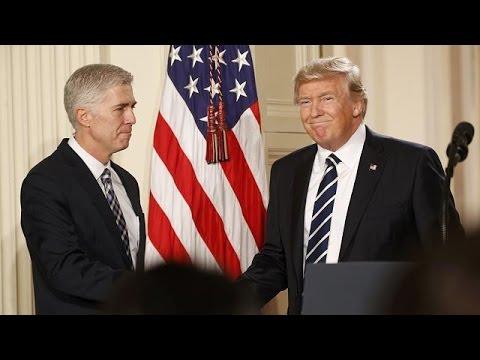 ΗΠΑ: Νιλ Γκόρσατς ο εκλεκτός του Ντόναλντ Τραμπ για το Ανώτατο Δικαστήριο