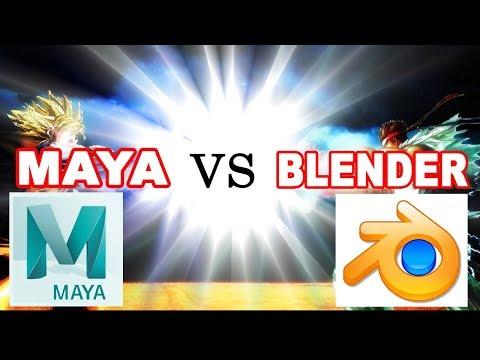 🤔 Should you Learn Maya or Blender 3D? ✔�