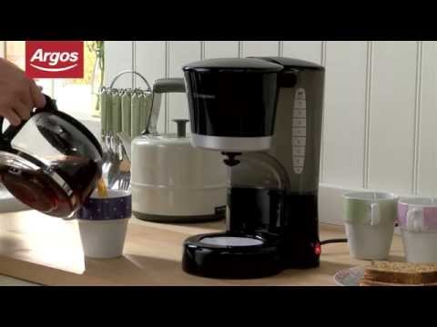 Coffee Maker With Grinder Argos : Cookworks CM2021J Filter Coffee Maker in Black Argos Review - Automatic Coffee MakerAutomatic ...