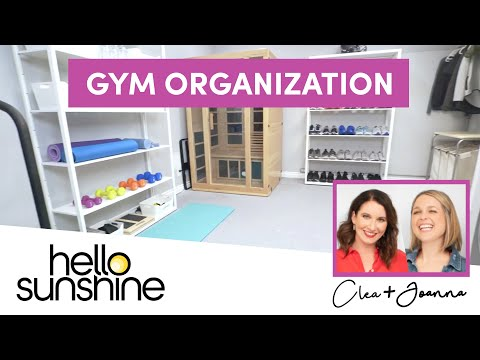 How To Organize Your Workout Space with The Home Edit | Master the Mess EP 6