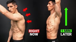 Do This EVERY Day for Better Posture (GUARANTEED!)
