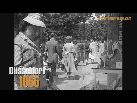 1955: Düsseldorf - Altstadt - Königsallee - Neubauten
