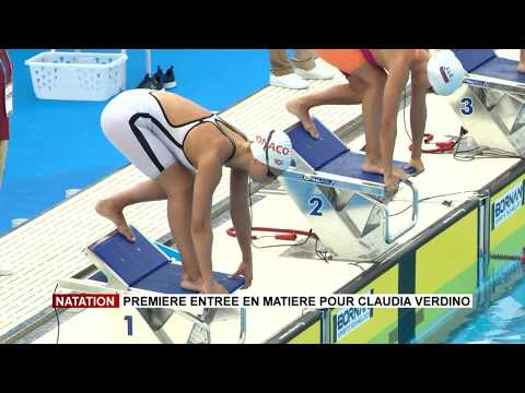 Swimming: A first introduction for Claudia Verdino