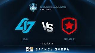 CLG vs Gambit, game 1
