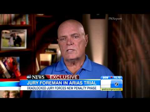 Jodi Arias Jury Foreman Explains How He Reached His Verdict: