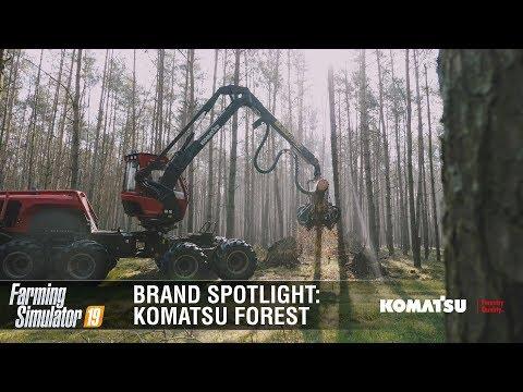 Farming Simulator 19 Brand Spotlight   Komatsu Forest v1.0