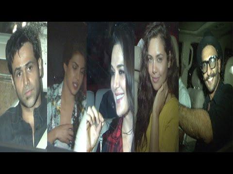Priyanka, Emraan Hasmi, Ranveer Singh At Special Screening Of Film Bajrangi Bhaijaan