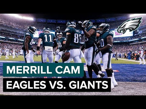 Merrill Cam: Best Of Philadelphia Eagles vs. New York Giants   Philadelphia Eagles