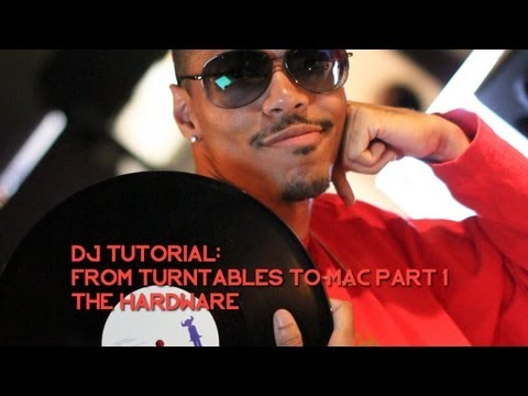 DJ Tutorial: Recording From Turntables To Mac: Hardware – The DJ AOT Show Ep. 1