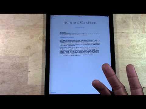 iPad Air – How to Setup