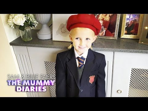 Nelly Is Off To Her First Day At School | The Mummy Diaries