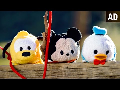 Mickey Mouse Plush Goes Fishing   Tsum Tsum Kingdom Episode 4   Disney
