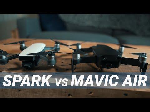 DJI Mavic Air vs DJI Spark