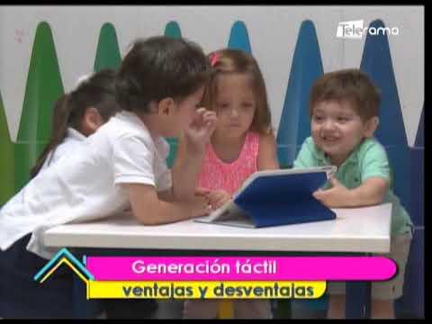 Generación táctil ventajas y desventajas