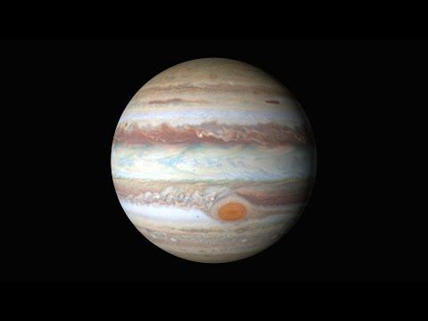 Jupiter :Nouvelle magnifique  vidéo de la Nasa  4k résolution