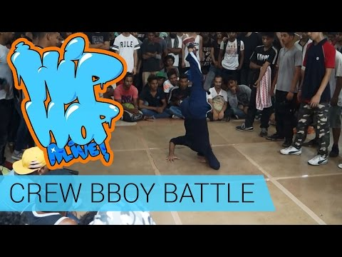 Mumbai Vs Delhi - Crew BBoy Battle @ HipHop Alive