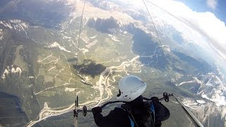 Golden (BC) Canada  City pictures : Hang Gliding Mount 7, Golden BC - Canadian Rockies
