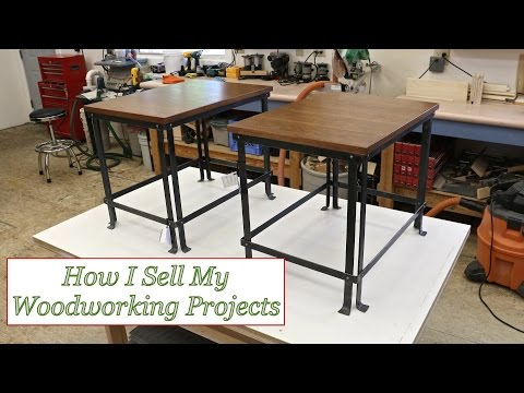woodworking - In this video I answer the most common question that I get from woodworkers: How do I sell my woodworking projects? I share my personal experience of how I s...