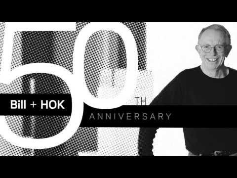 Bill Valentine - Motion graphics introduction to a video presentation on Bill Valentine's 50 years at HOK. Graphics from various pieces promoting the event were used to creat...