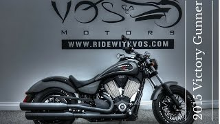 8. Victory Motorcycles - Used 2015 Victory Gunner