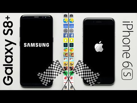Galaxy S8 (2017) vs. iPhone 6S (2015) Speed Test