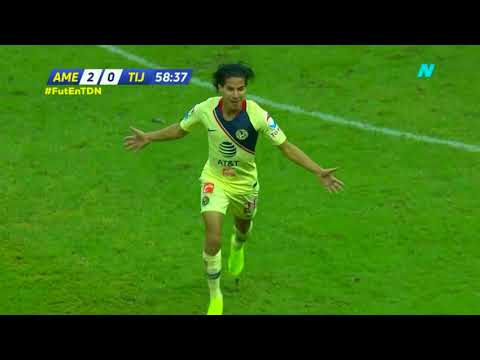 Video Gol de D. Lainez   América 3 - 0 Tijuana   Liga MX - Apertura 2018 - Jornada 13   LIGA Bancomer MX download in MP3, 3GP, MP4, WEBM, AVI, FLV January 2017