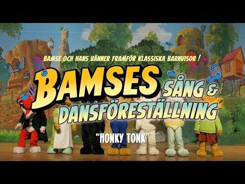 Bamse - Honky Tonk (Höger ben fram, höger ben bak)