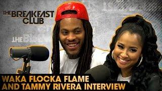 Power 105.1 - Waka Flocka Flame & Tammy Rivera Interview With The Breakfast Club