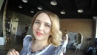 съемка для какого-то конкурса красоты. попытался спросить о концепции съемки)))