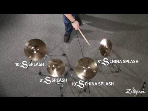 Zildjian S Family Cymbals - Splashes