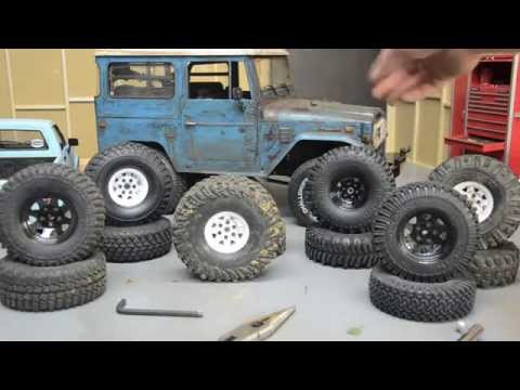 RC4wd Toyota Land Cruiser FJ Tire Options, What Fits?