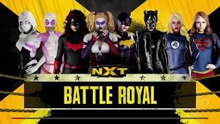 WWE 2K18 8 Woman Battle Royal