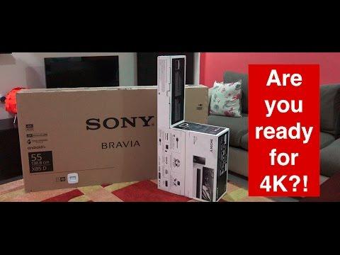 Sony X85D 55