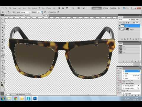 Sunglass Image Masking
