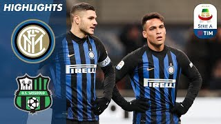 Serie A, highlights Inter-Sassuolo 0-0