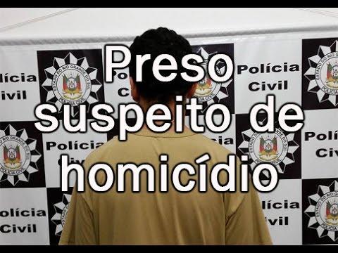 Suspeito de homicídio em Taquari é preso