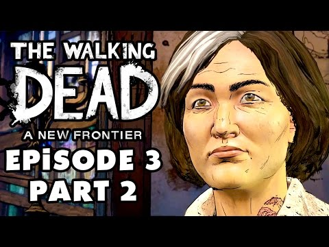The Walking Dead: A New Frontier - Season 3 Episode 3: Above the Law - Gameplay Walkthrough Part 2