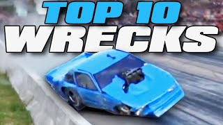 Top 10 WORST Drag Racing WRECKS from 2019 by 1320Video