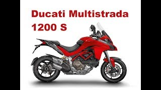 3. The Best Adventure Motorcycles - Ducati 1200 Multistrada - Test & Review