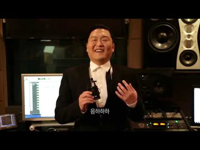 Psy in Crossy Road!