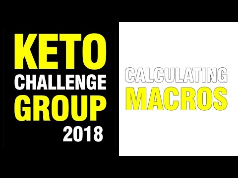Atkins diet - KETO / LCHF DIET - CALCULATING MACROS
